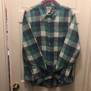 Men's LLBean Plaid Shirt